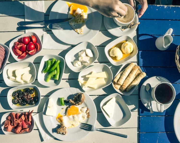 Что едят на завтрак жители Турции