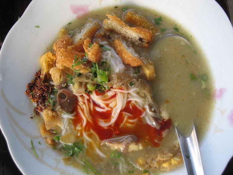 Что едят на завтрак жители Мьянмы