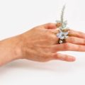 Крошечные букеты на ваших руках: элегантные кольца от Гахи Канг