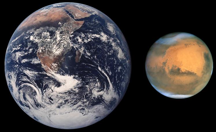 Интересные научные факты о Марсе