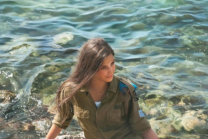 портреты женщин, фотореалист, Игаль Озери