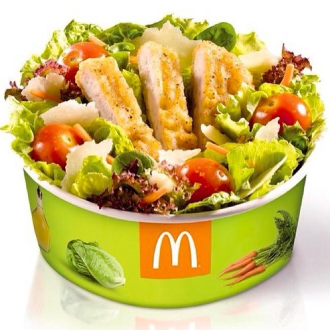 Салат из Макдоналдса
