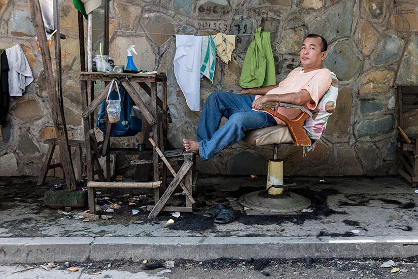 Камбоджа, камбоджийские парикмахерские, фотопроект, Роберт Гётцфрид, Robert Götzfried