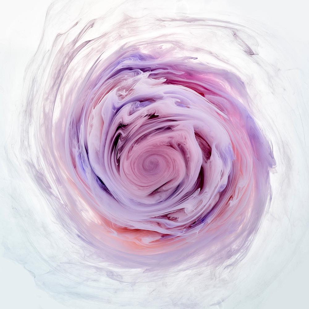 Flowers and Swirls, цветы из красителей, фотосерия, Марк Моусон, Mark Mawson