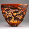 Замысловатые вазы из валежника от Гордона Пембриджа