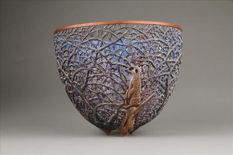 вазы из валёжника, Гордон Пембридж, Gordon Pembridge