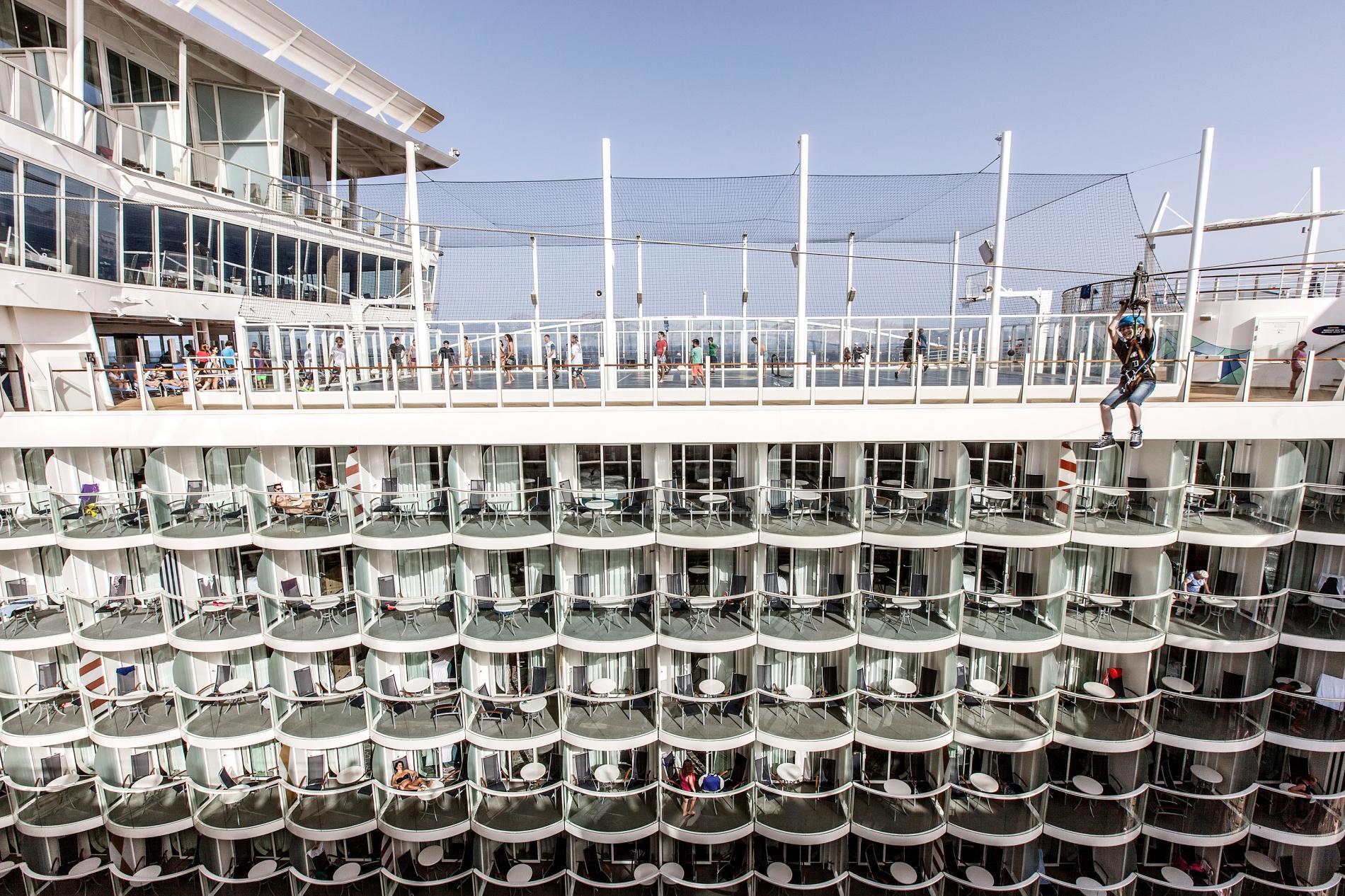 Harmony of the Seas, крупнейшее круизное судно, фотографии, Альберто Бернаскони, Alberto Bernasconi