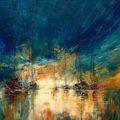 Меланхоличные морские пейзажи от Юстины Копаня