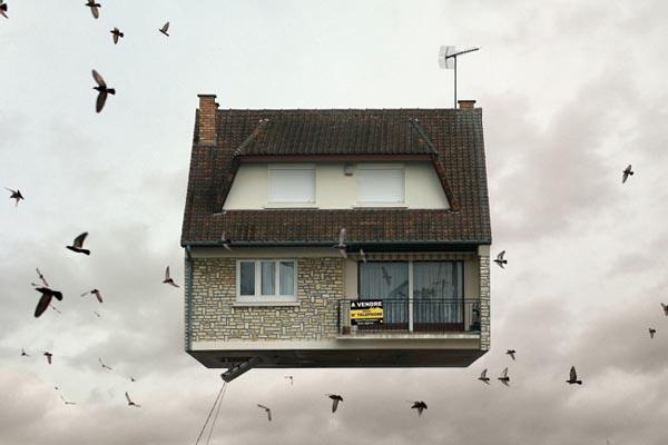 Летающие дома: исследование бедности в пригороде Парижа