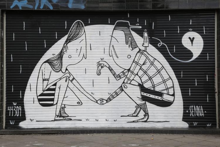 стрит-арт, Алекс Сенна, Alex Senna