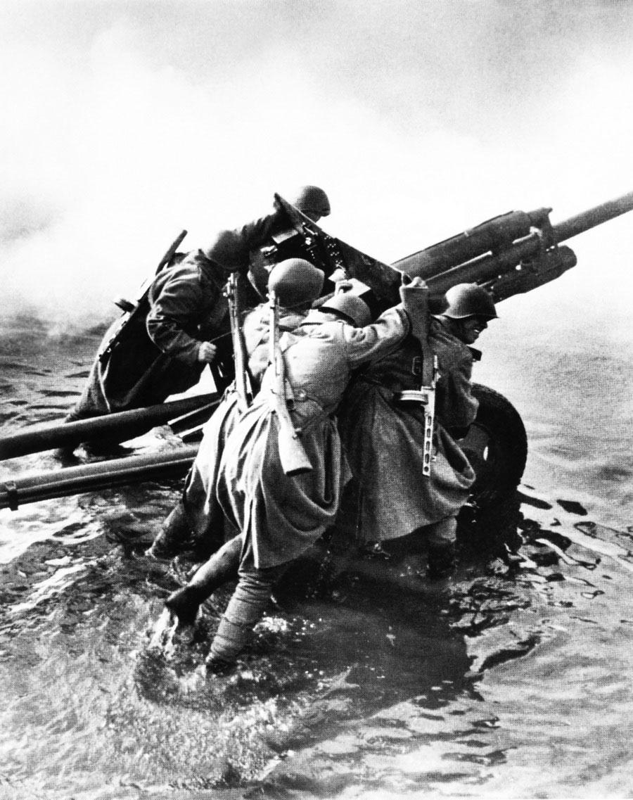 Форсирование Одера. Декабрь, 1944 год