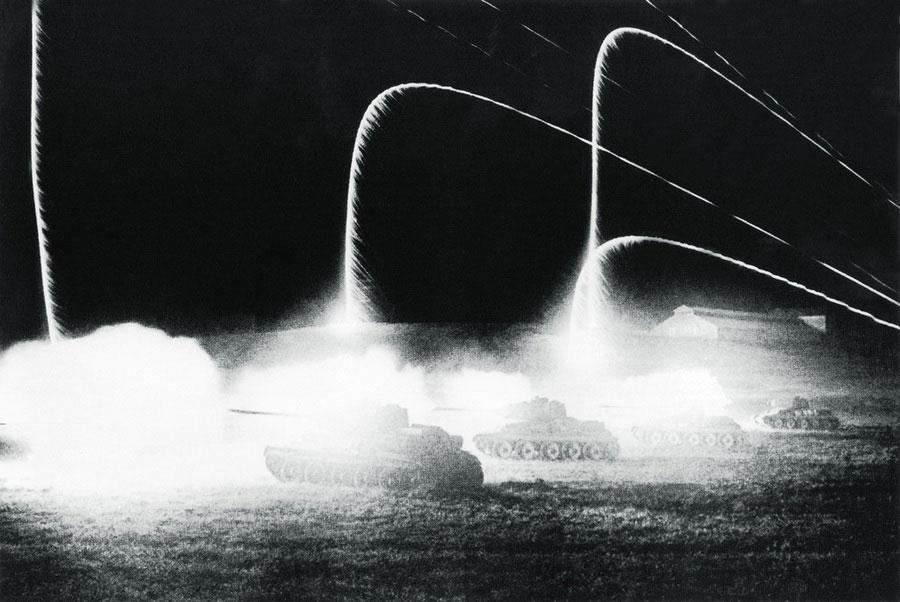 Огонь ведут танки, 1943 год