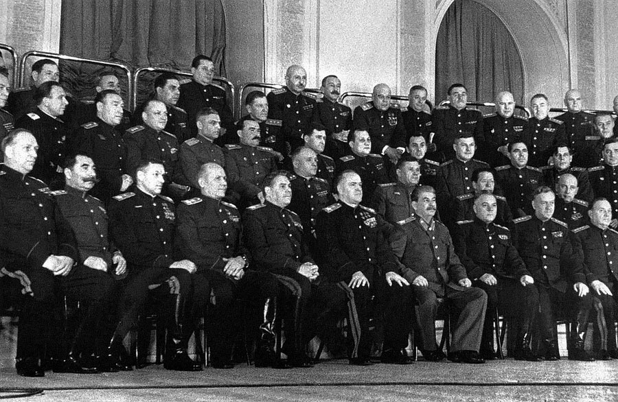 Победители, 1945 год