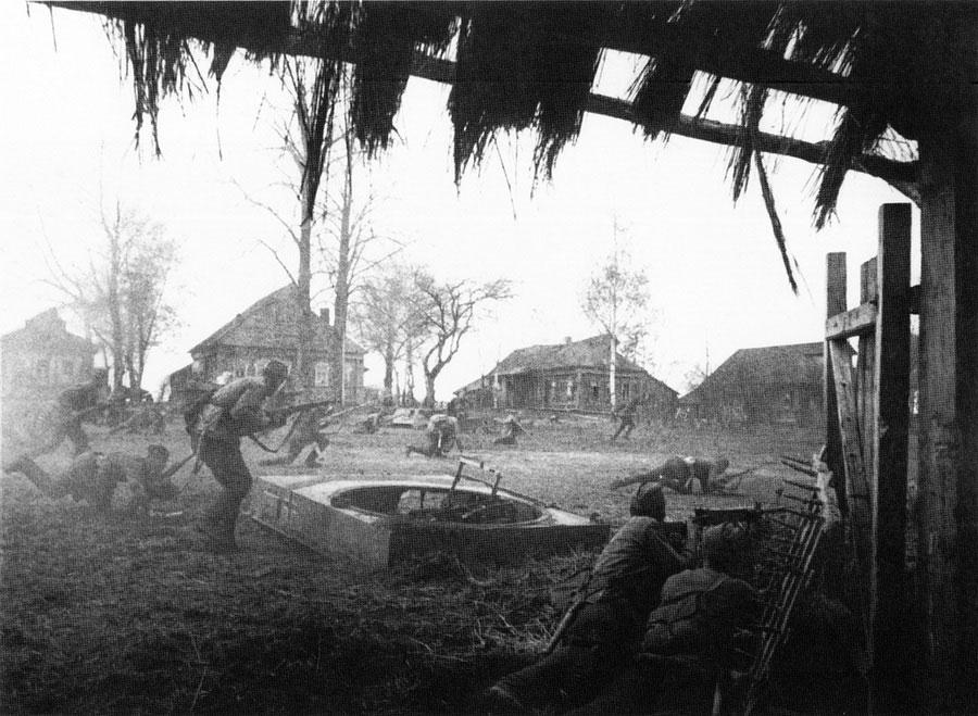 Бой за деревню, 1941 год