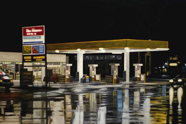 Атмосферные ночные пейзажи в картинах Питера Д. Харриса