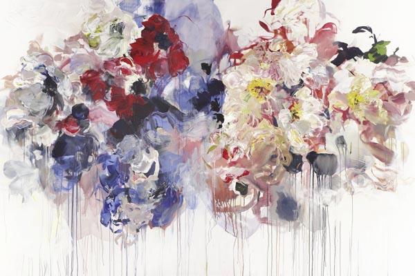 Абстрактные цветочные композиции от Бобби Бюргерс