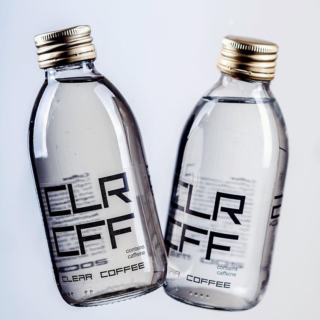 Clear Coffee, прозрачный кофе, Clr Cff
