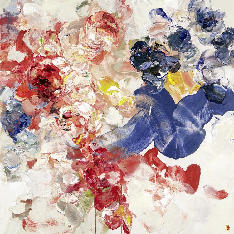 абстракция цветочные композиции, Бобби Бюргерс, Bobbie Burgers
