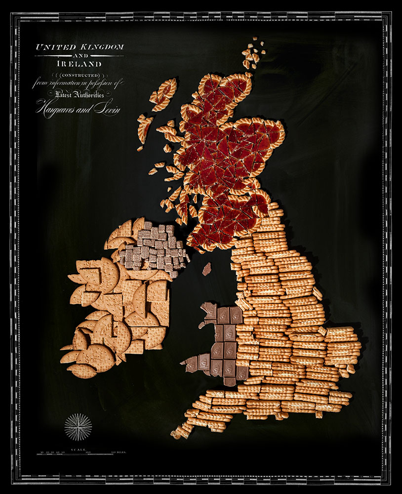 гастрономические карты, Генри Харгривз, Henry Hargreaves, Кейтлин Левин, Caitlin Levin, Food Maps