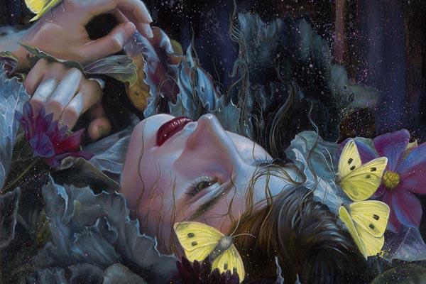 Сказочные портреты женщин в работах Кэри-Лиз Александр
