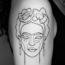 Утончённые татуировки из одной непрерывной линии от Мо Ганджи