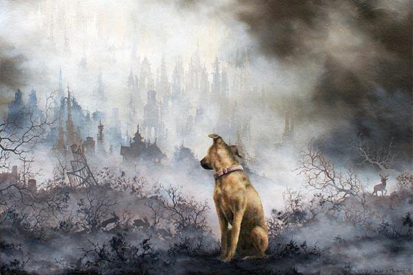 Эффектные туманные пейзажи в картинах Брайана Машбёрна