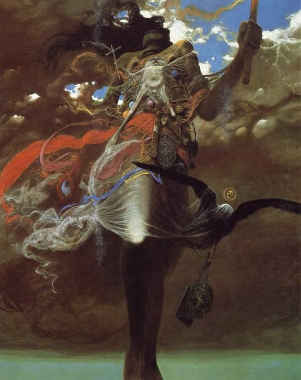 сюрреализм, постапокалиптика, мрачные картины, оптимистичный художник, Здзислав Бексиньский, Zdzisław Beksiński