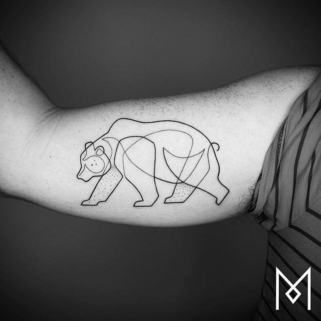 татуировки из одной линии, Мо Ганджи, Mo Ganji
