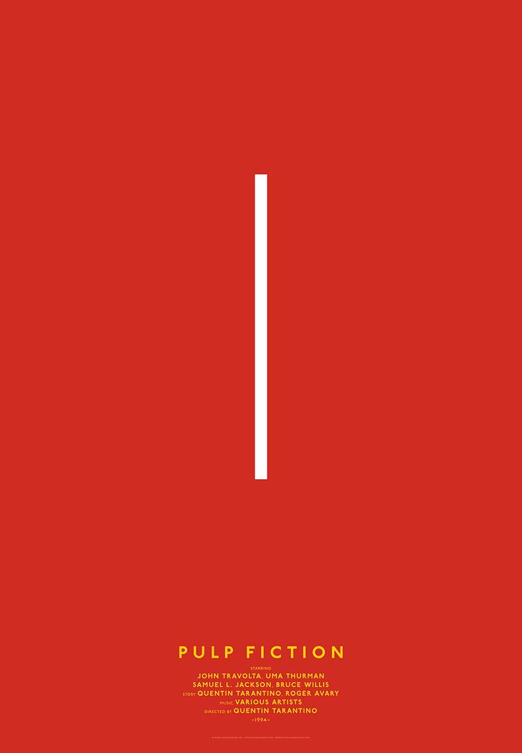 постеры к знаменитым фильмам, минимализм, Classic Movies, Михал Краснополски, Michal Krasnopolski