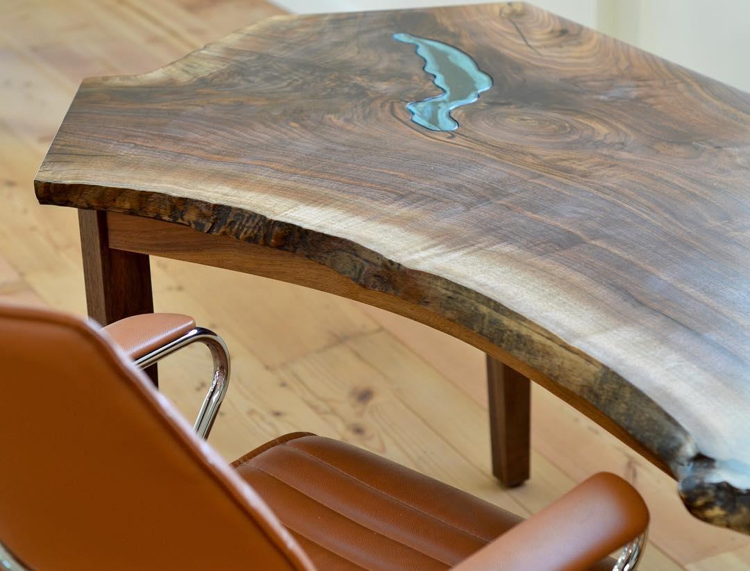 красивый дизайн, мебель с имитацией водоемов, Грег Классен, Greg Klassen