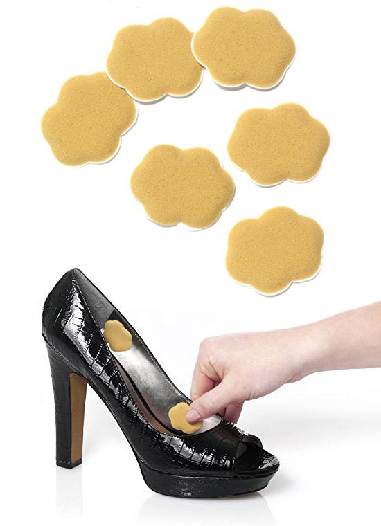 облегчить носку высоких каблуков, натирание ноги