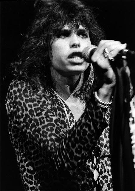 Лидер группы Aerosmith Стивен Тайлер, 1976