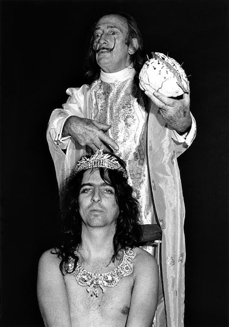 Элис Купер и Сальвадор Дали, 1973
