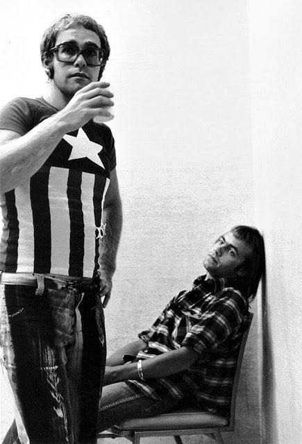Элтон Джон и Берни Топин, 1971
