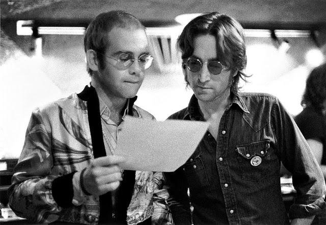 Элтон Джон и Джон Леннон, 1974