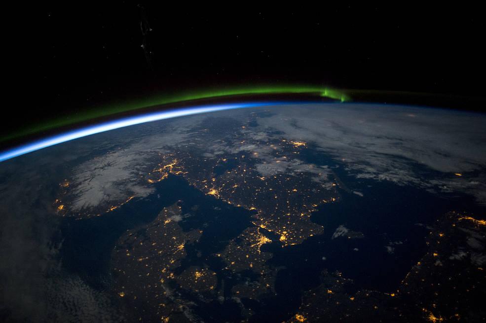 границы из космоса
