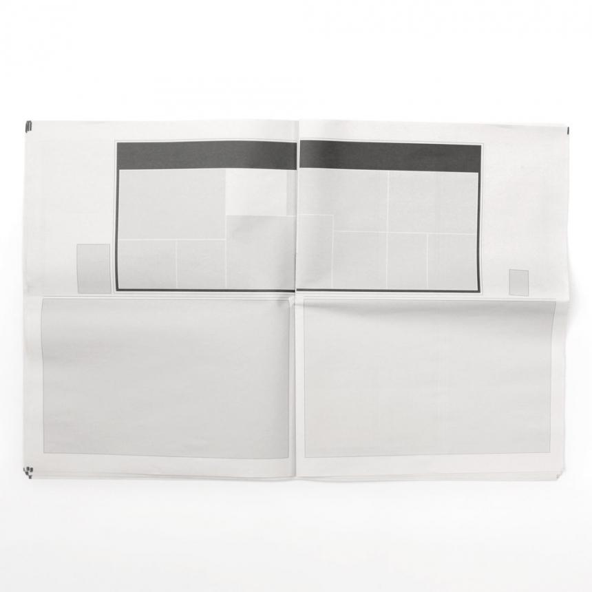 ничего в новостях, пустые газеты, Джозеф Эрнст, Joseph Ernst