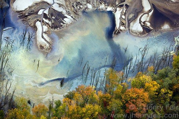 Влияние промышленности на нашу планету в аэрофотографиях Дж. Генри Фейра