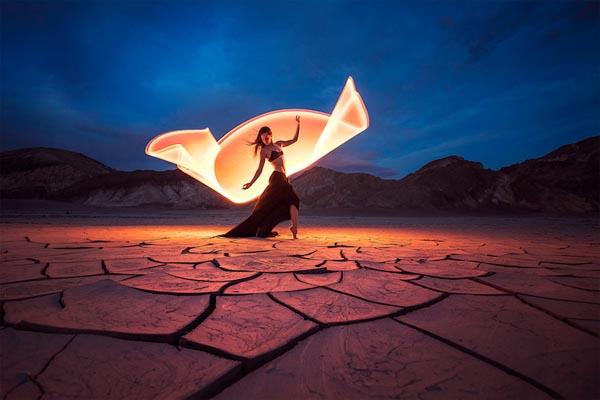 Световое искусство: изящные фотографии от Эрика Паре