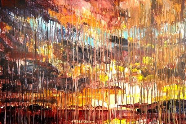 Выразительность в абстрактных картинах Крисси Англикер