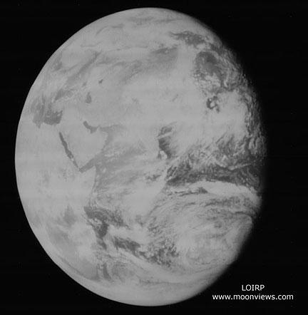 Первое в истории изображение целой Земли