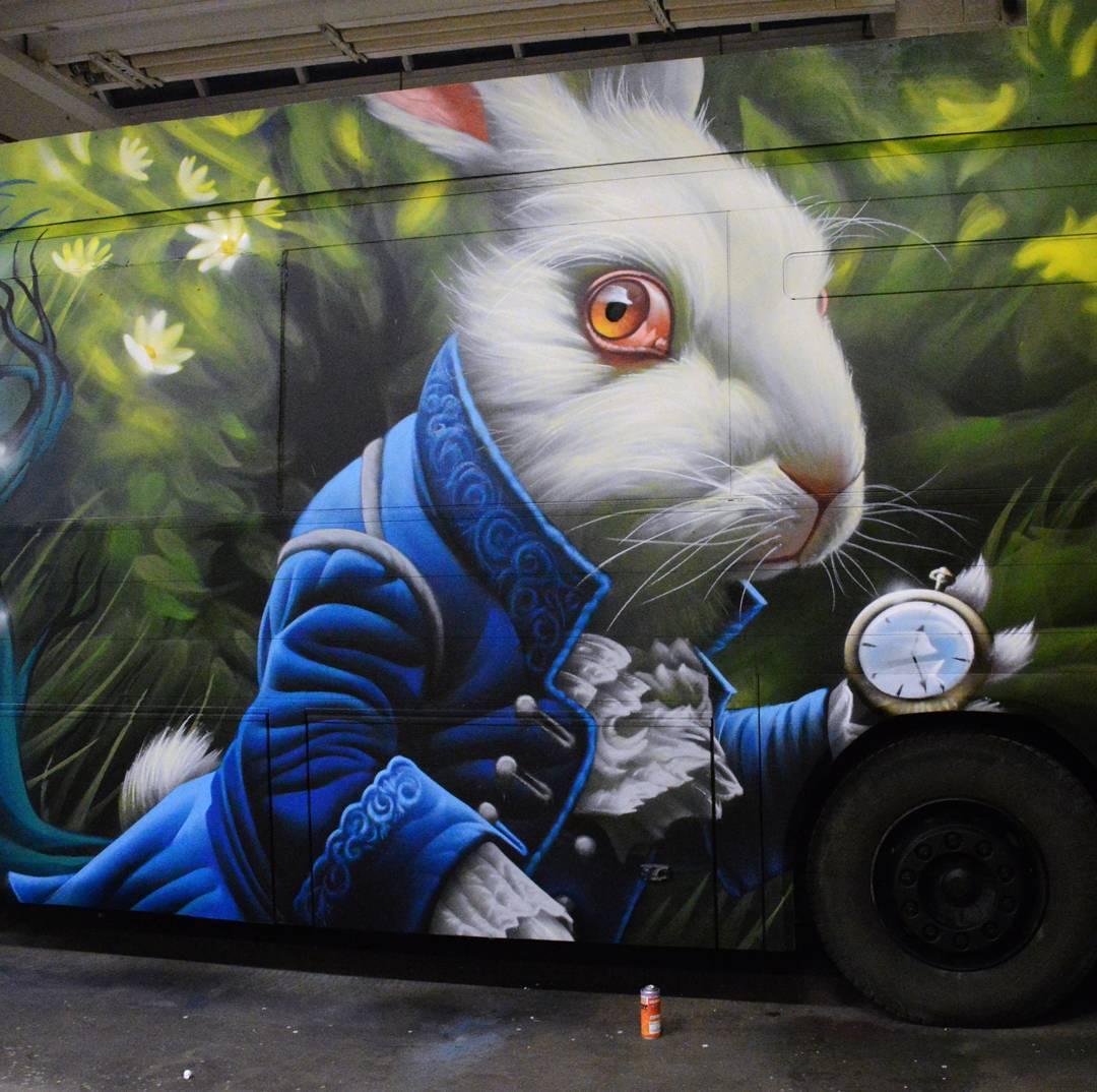 3D граффити, уличный художник, Insane 51, Статис Тсавалиас, Stathis Tsavalias