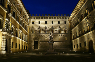 Здание штаб-квартиры Monte dei Paschi di Siena