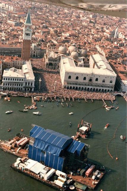 концерт Pink Floyd, Венеция, 1989 год