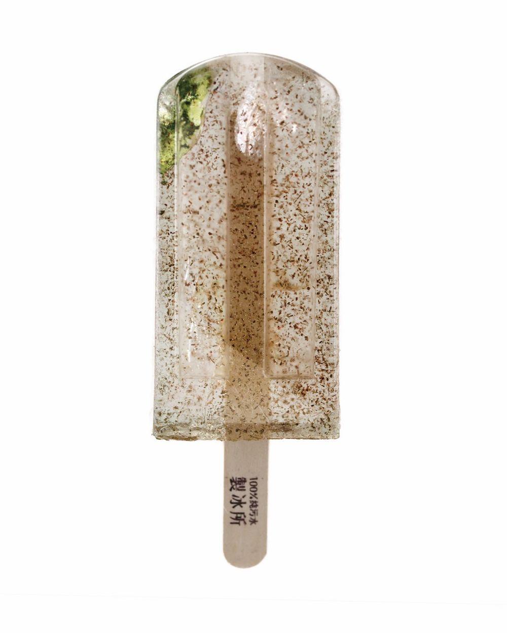 мороженое из загрязнённой воды, экологические проблемы, проект