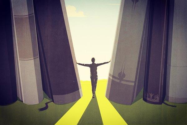 Скрытые сюжеты в концептуальных иллюстрациях Андреа Учини