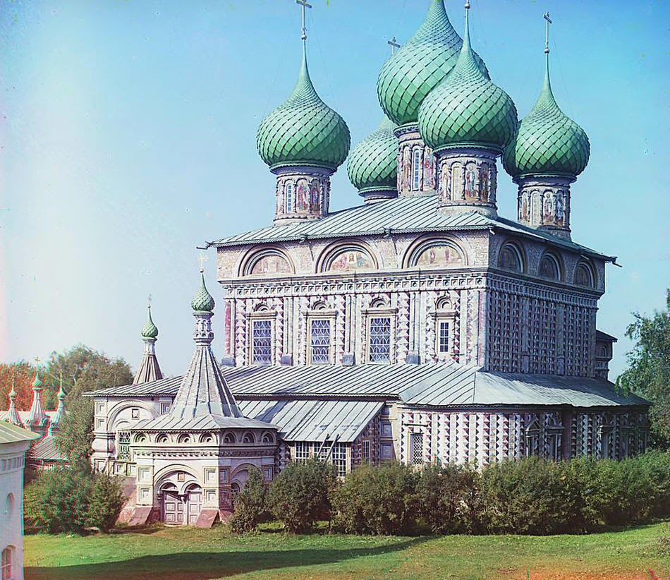 Старинные цветные фотографии России начала XX века