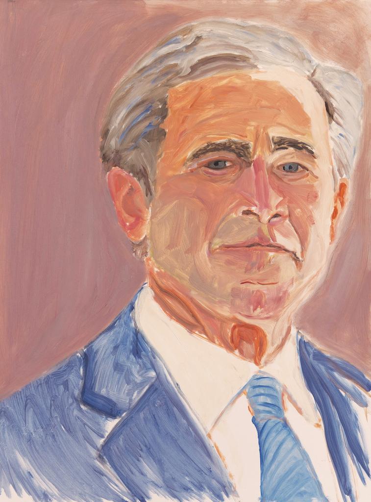 Автопортрет Джорджа Буша-младшего