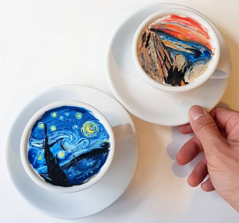 Картины на кофе