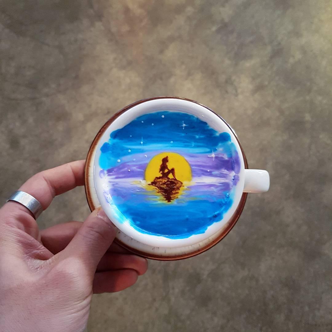 Живопись кофе